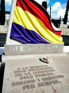 Tomba brigadistes internacionals soterrats a Benissa