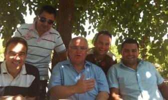 De Pedro, Cotino i altres membres del PP de Benissa